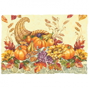 Hoffmaster Seasonal Printed Placemats, 9-3/4