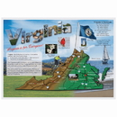 Hoffmaster 311129 State & Regional Printed Placemats, Map of Virginia, 10