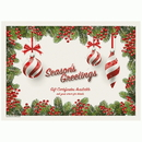 Hoffmaster 311143 Seasonal Activity Placemats, 10