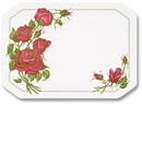 Hoffmaster 702018 901-FD218 Roses Placemat