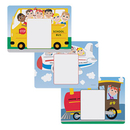 Hoffmaster 702085 Kid's Multipack Menu Placemats, Set of 3