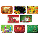 Hoffmaster Seasonal Celebrations Placemats, Set of 8
