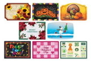 Hoffmaster 857208 901-FD510 Fall & Winter Seasonal Celebration Placemats, 8 Poly-Wrapped Designs per Case