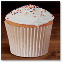 Hoffmaster BL Fluted Bake Cup White