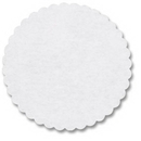 Hoffmaster White Top Corrugated Cake Circle