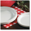 Hoffmaster Paper Plates, White