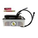 ESCO 10875C Yellow Jackit 5 Quart Plastic Reservoir Air Hydraulic Pump Kit
