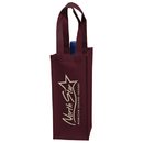Custom VINE1 1 Wine Bottle Bag Contains 20% Post-Industrial Recycled Content
