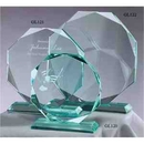 Custom Preminum Jade Glass Award, 7 1/2