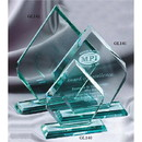 Custom Preminum Jade Glass Award, 6 1/2