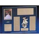 Custom Cherished Memories Awards With Multiple Plates And A Casting Of A Dancing Couple And Picture Frame