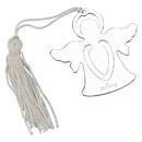 Custom Creative Gifts Standing Angel Bookmark, Nickel Plate 2.5