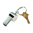 Custom Coach Whistle Key Chain, SS, 2