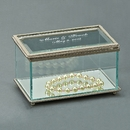 Custom Rectangular Hinged Box, Glass, 5.25