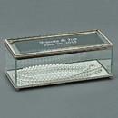 Custom Rectangular Hinged Box, Glass, 8