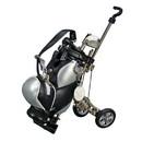 Custom Golf Cart Pen Holder Blk / Silver w/ 3 Pens