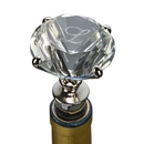 Custom Clear Diamond Bottle Stopper