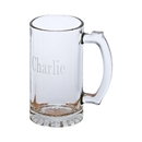 Custom Glass Pint Tankard