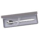 Custom Baby Feeding Spoon w/ Grey Flocked Box