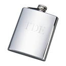 Custom Bright Flask, SS 8 Oz Capacity, 5