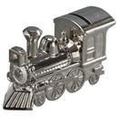 Custom Creative Gifts Train Bank, Nickel Plate, 2