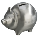 Custom Creative Gifts Piggy Bank - Brushed Finish