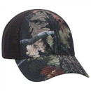 6 Panel Low Profile Polyester Canvas Pro Mesh Back Cap