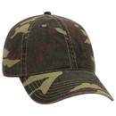 Blank OTTO 103-713 Camouflage Garment Washed Cotton Twill Low Profile Pro Style Cap