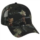 Custom OTTO Camouflage Superior Polyester Twill Six Panel Low Profile Mesh Back Trucker Hat