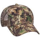 Blank OTTO 105-751 CAP Camouflage 6 Panel Low Profile Mesh Back Trucker Hat