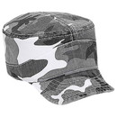 Custom OTTO 112-785 Camouflage Superior Garment Washed Cotton Twill Flexible Soft Visor Military Style Cap