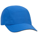 Custom OTTO Five Panel Polyester Pongee Reflective Sandwich Visor Running Cap