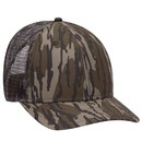 Blank OTTO 171-1292 CAP Mossy Oak Camouflage Superior Polyester Twill 6 Panel Low Profile Mesh Back Baseball Cap