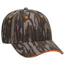 Blank OTTO 171-1294 CAP Mossy Oak Camouflage Superior Polyester Twill Sandwich Visor 6 Panel Low Profile Baseball Cap