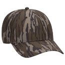Blank OTTO 171-1295 CAP Mossy Oak Camouflage Superior Polyester Twill 6 Panel Low Profile Baseball Cap