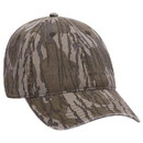 Blank OTTO 171-1296 CAP Mossy Oak Camouflage Garment Washed Superior Cotton Twill 6 Panel Low Profile Baseball Cap
