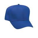 Custom Promo Cotton Blend Twill Six Panel Pro Style Baseball Cap