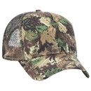 Blank OTTO 45-052 Camouflage Cotton Twill Pro Style Mesh Back Structured Firm Front Panel Cap