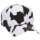 Blank OTTO 56-057 Cow Patter Cotton Twill Pro Style Cap