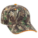 Blank OTTO 71-602 Camouflage Cotton Twill Sandwich Visor Low Profile Pro Style Seamed Front Panel with Full Buckram Cap