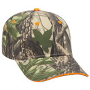 Custom OTTO 71-845 Camouflage Cotton Twill Sandwich Visor Low Profile Pro Style Cap - Heat Transfer
