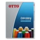 Blank OTTO 72-746 Embroidery Poly Thread Color Card