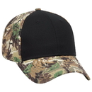 Custom OTTO Camouflage Cotton Blend Twill Six Panel Low Profile Baseball Cap
