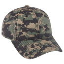 Custom OTTO Digital Camouflage Cotton Ripstop Six Panel Low Profile Baseball Cap