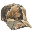Blank OTTO 78-353 Camouflage Cotton Twill Low Profile Pro Style Seamed Front Panel with Full Buckram Cap