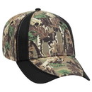Blank OTTO 78-762 Camouflage Piping Design Cotton Twill Low Profile Pro Style Seamed Front Panel with Full Buckram Cap
