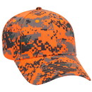 Custom OTTO 78-776 Digital Camouflage Cotton Twill Low Profile Pro Style Cap - Heat Transfer