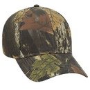 Custom OTTO 78-846 Camouflage Cotton Twill Low Profile Pro Style Structured Firm Front Panel Cap
