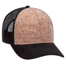 Custom 6 Panel Cork Mesh Back Cap