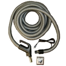 Built-in 4W3535FPSS, Hose, 35' Universal Dc / 6' Pigtail Black & Silver